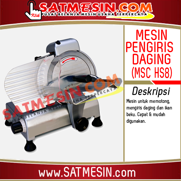Mesin Pengiris Daging MSC HS8