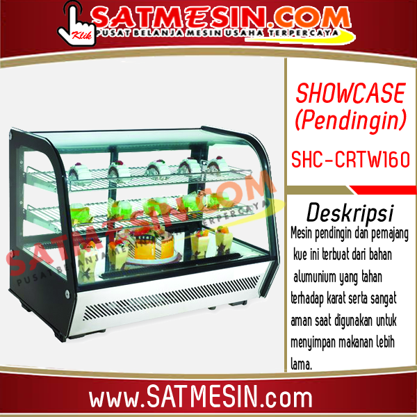 Mesin Showcase Pendingin SHC-CRTW160